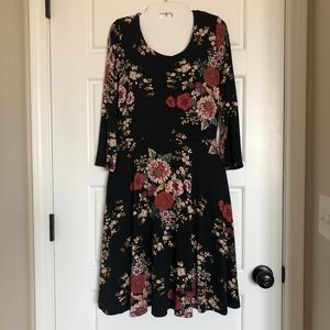 Cynthia Rowley floral print dress